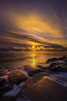 Bluesky Photograph - More Than A Memory by Phil Koch