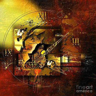 Times Mixed Media - More Than The Reality by Franziskus Pfleghart