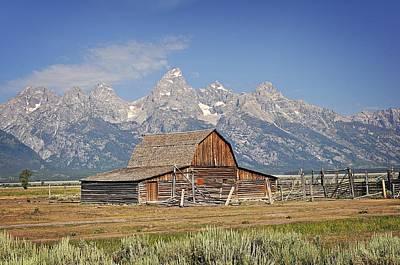Mormon Barn 2 Print by Marty Koch