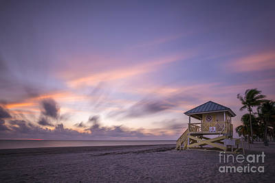 Key Biscayne Photograph - Morning Bliss by Evelina Kremsdorf