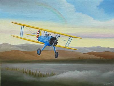 Morning Flight Original by Stuart Swartz