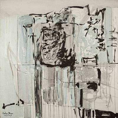 Indian Ink Mixed Media - Morning Fog by Nahum Moses