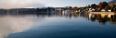 Lake Photograph - Morning Fog On Lake George by David Patterson