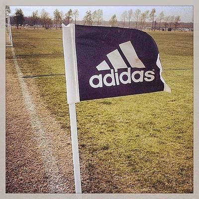 Adidas Photograph - Morning Game by Scott Pellegrin