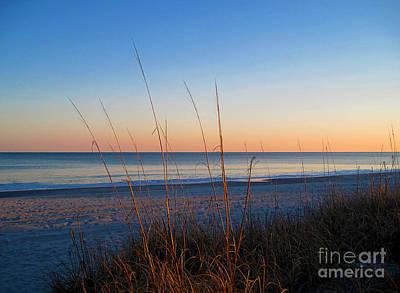 Morning Has Broken At Myrtle Beach South Carolina Print by Susanne Van Hulst