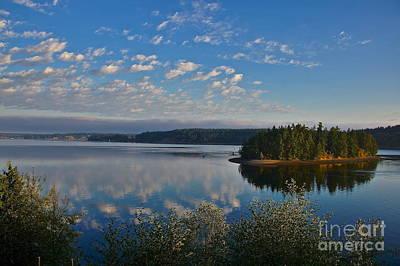 Tacoma Photograph - Morning Has Broken by Sean Griffin