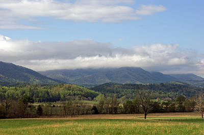 Morning In Cades Cove Print by Roger Potts