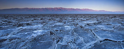 Morning In Death Valley Print by Andrew Soundarajan