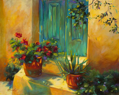 Entrance Door Painting - Morning Light by Chris Brandley