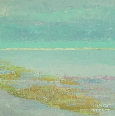 Morning Low Tide Print by Gail Kent