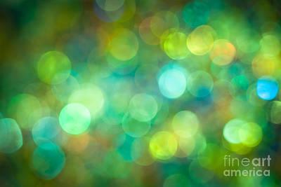 Disco Photograph - Morning Meadow by Jan Bickerton