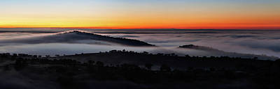 Alentejo Photograph - Morning Mist by Babak Tafreshi