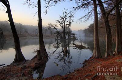 Morning Mist On The Blanco Print by Richard Mason