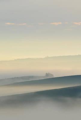 Morning Moravian Impresion  Print by Jaroslaw Blaminsky
