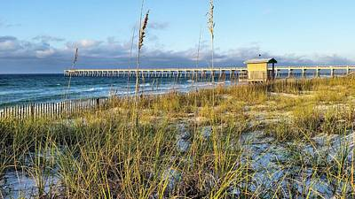 Navarre Beach Photograph - Morning On Navarre Beach by JC Findley