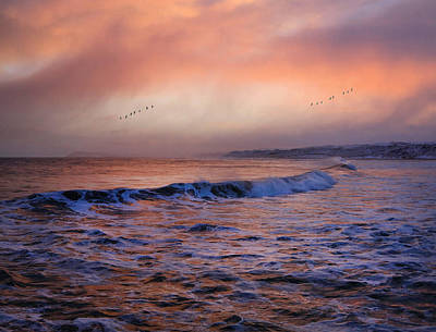Portrush Photograph - Morning On The Coast by Roy  McPeak