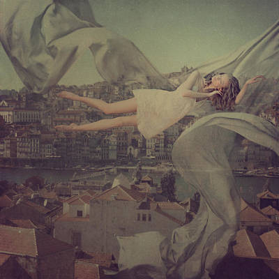 Levitation Photograph - Morning Over Oporto by Anka Zhuravleva