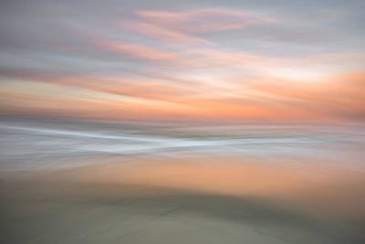 Icm Photograph - Morning Pastels In Motion by Alexander Kunz