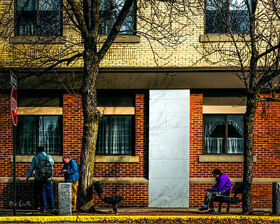 Expressionism Photograph - Morning People by Bob Orsillo