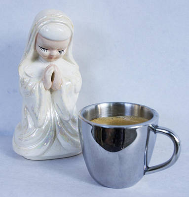 Coffee Photograph - Morning Prayer by William Patrick