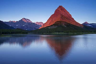Glacier National Park Photograph - Morning Reflections by Andrew Soundarajan