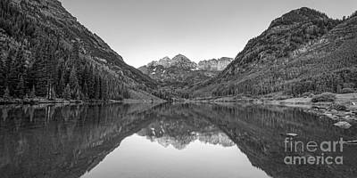 Morning Reflections Bw Original by Michael Ver Sprill