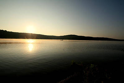 Muskellunge Photograph - Morning Sun by Sandy Fraser