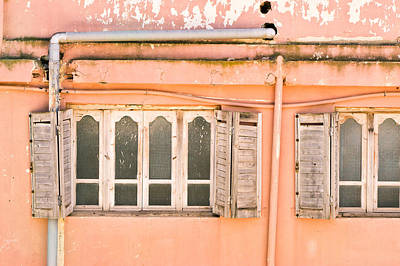 Messy Photograph - Moroccan Building by Tom Gowanlock