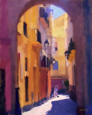 Moroccan Light Print by Bob Galka