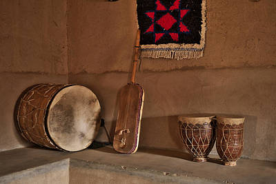 Africa Photograph - Moroccan Traditional Instruments by Ivan Slosar
