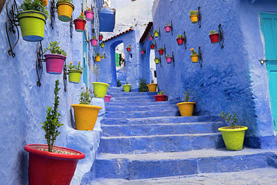 Ies Photograph - Morocco, Chefchaouen Or Chaouen Is Most by Emily Wilson