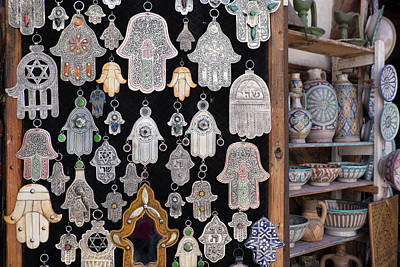 Morocco, Fez, Medina, Display Print by Emily Wilson