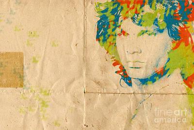 Morrison Watercolor Splash Print by Paulette B Wright