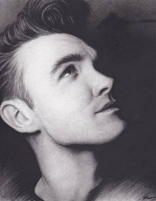 Morrissey Drawing - Morrissey by Brittni DeWeese