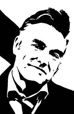 Morrissey Print by Monofaces