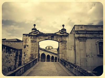 Morro Castle San Juan Print by Julie Palencia