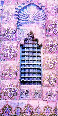 Window Marrakesh Morocco Print by Cimorene Photography