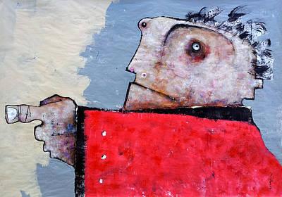 Mark M. Mellon Painting - Mortalis No 6 by Mark M  Mellon