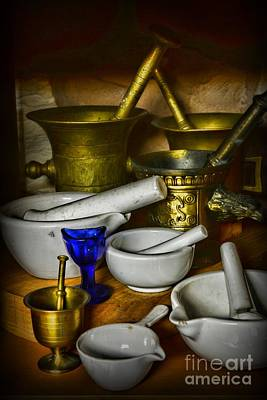 Mortars And Pestles Print by Paul Ward