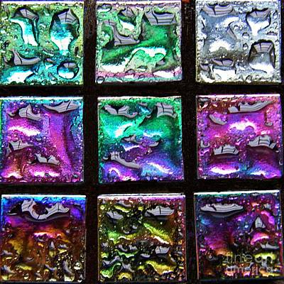 Mosaic 18 Print by Sarah Loft