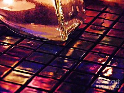 Iridescent Glass Photograph - Mosaic 9 by Sarah Loft