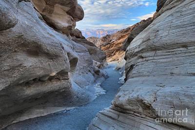 All Faa Photograph - Mosaic Canyon Twilight by Adam Jewell