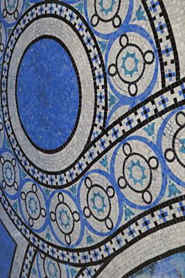 Mosaic Perspective Print by Tony Rubino