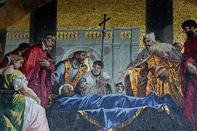 Mosaic Photograph - Mosaic Religious Artwork by Darrell Gulin