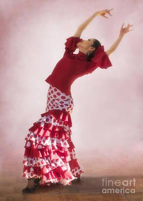 Mosaico Photograph - Mosaico Flamenco Dancer by Priscilla Burgers