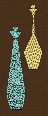Mosaics 1 Print by Donna Mibus