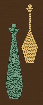Mosaics 3 Print by Donna Mibus