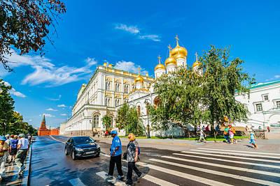 Moscow Kremlin Tour - 52 Of 70 Print by Alexander Senin