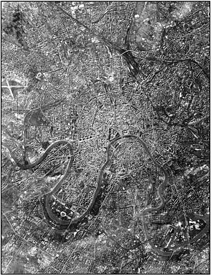 Moscow Print by National Reconnaissance Office