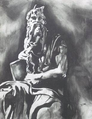 Moses Print by Jeremy Moore